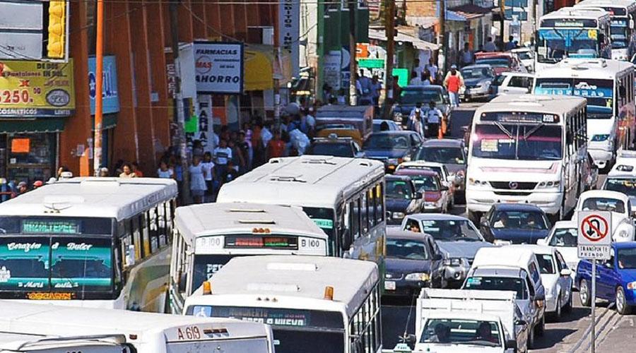 El tráfico más lento del mundo se encuentra en la ciudad de Oaxaca